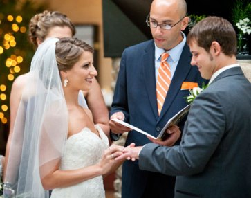 Professional, personal wedding officiant